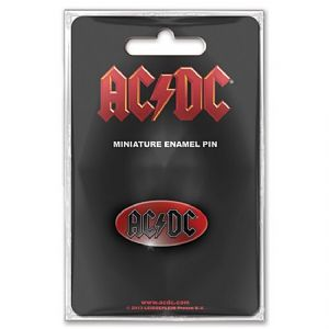 AC/DC metal / enamel mini pin badge    (ro)